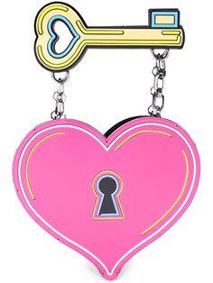 YAZBUKEY heart and key clutch. #yazbukey #bags #clutch #hand bags #