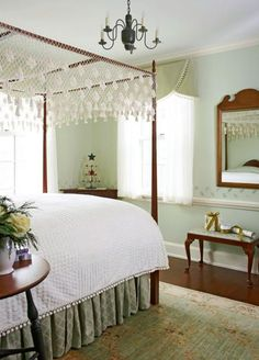 Colonial Bedrooms On Pinterest Primitive Bedroom Canopy