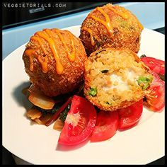 Kimchi Fried Rice Balls, inspired by Seoul Sausage on The Great Food Truck Race: Veggietorials (Hunting for a recipe!!!)