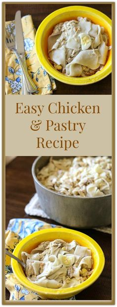 Easy Chicken and Pas