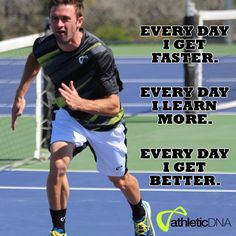Everyday I get faster. Everyday I learn more. Everyday I get better.