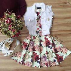 Lindo vestido florido  @mylifeas.gi Bloguinho-gi.blogspot.com