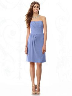 After Six Bridesmaids Style 6685 (shown in periwinkle)
