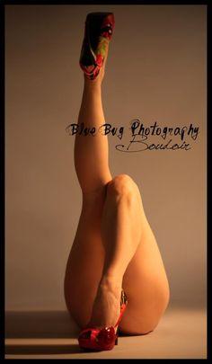 Boudoir - Studio photography - sexy - beautiful - legs  www.bluebugphotos.com