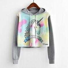 I want this unicorn sweatshirt so bad