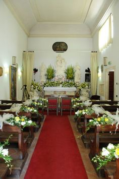 The Church decorated inside