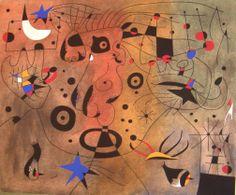 Joan Miró - Constelacion/Konstelace, 1940