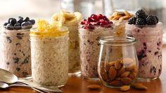 Lekker eten en gezond koken doe ik met veel plezier. De laatste tijd heb ik me gestort op het maken van overnight oats. Heerlijk als ontbijt!