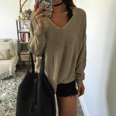 Our favorite knit is back! Boxy, light knit sweater you must add to your fall…