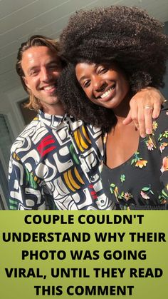 #COUPLE COULDN'T #UNDERSTAND WHY THEIR PHOTO WAS GOING #VIRAL, UNTIL THEY READ THIS #COMMENT