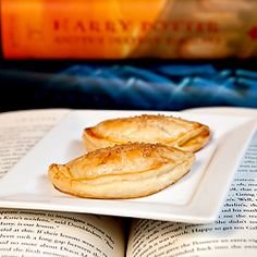 From page to plate - pumpkin pasties from the world of Harry Potter!