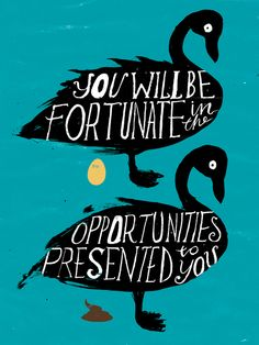 Jonathan Gray, for the Posters of Fortune series