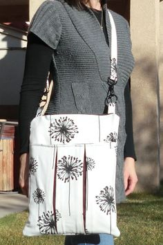 Slim laptop bag - tutorial