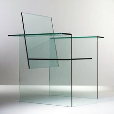 Glass Chair 1976 | Shiro Kuramata