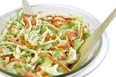Simply, Skinny Crunchy Slaw from Skinny Kitchen.  ~1 cup serving = 78 calories and 3 WW Points Plus.