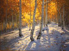 Douglas Aagard...Early Winter on Holman Ridge..... http://www.aagardart.com