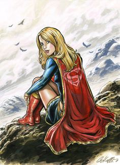 Supergirl Pink by ~funrama