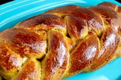 Pumpkin Challah bread- perfect recipe for fall!