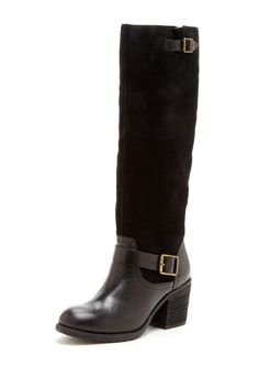 Jessica Simpson black riding boots