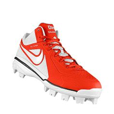 I designed this at NIKEiD ---- softball cleats! Softball CleatsGloves Baseball