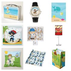 These are some of #giftideas for your #kids I DO have lots of designs themed. Check more here: www.zazzle.com/celebrationideas |www.zazzle.com/graphicdesign | www.zazzle.com/modernhomedecors  #zazzle #holidayshopping #lunchbox #watches #blanket #wallclock #nightlight#tablelamp #pillows #wrappingpaper #giftbag #surfer ##cowboy #underwater#pirates #softball #sports #firefighter #prince #police #dinosaurs etc. Dinosaurs, Softball, Firefighter, Night Light, Underwater, Pirates, Gift Guide, Police, Lunch Box