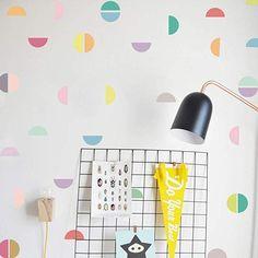 Canifon Pegatinas De Pared para Habitaciones para Ni/ñas DIY Creative Multi-Size Love Pegatinas De Pared Removibles Frases Flores Cocina Decorativas Negro