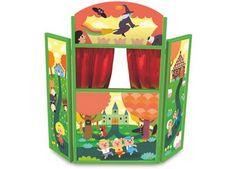 geweldig houten sprookjestheater Vilac   kinderen-shop Kleine Zebra