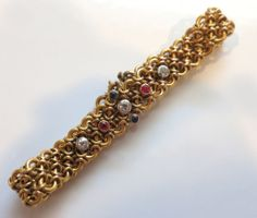 Simply Stunning 18K French Art Nouveau Bracelet from The Pearl Antiques at RubyLane.com