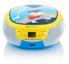 Rádioprijímač s CD GoGEN Maxipes Fík MAXIPREHRAVAC B modrý/žltý | HEJ.sk