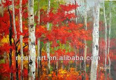 Image result for trees oil painting images