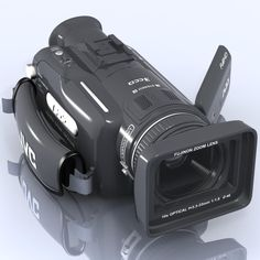 3Ds Max Hd Camcorder Jvc Gz Hd7 - 3D Model