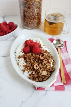 Chocolatey Hazelnut Granola - A Beautiful Mess