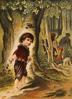 """""""Hansel y Gretel"""". Un cuento proveniente de la tradición popular que recogen los Hermanos Grimm durante el Romanticismo (siglo XIX)"""