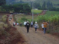 Caminhada na Natureza. O circuito é realizado anualmente no dia 1º de maio, no período das 07:00 ao meio dia. Município de Medianeira