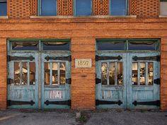 Old firehouse doors - Detroit, Michigan...