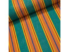 Lehátkovina PPD/01 oranžovo-zelené pruhy, š.60cm (látka v metráži) | TextilCentrum.cz Rugs, Home Decor, Farmhouse Rugs, Homemade Home Decor, Types Of Rugs, Interior Design, Home Interiors, Carpet, Decoration Home