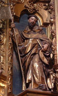Santo Domingo de Guzmán. Imagen de Iglesia San Nicolás. Sevilla.