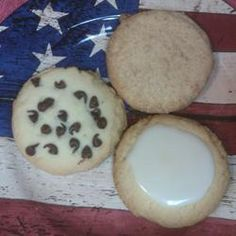 Buttery, rich slightly sweet shortbread cookies.  Add 2 tsp vanilla or 1/2 tsp almond extras to give them more flavor.