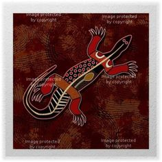 Here We Have A Red And Brown Lizard Wall Sticker That Can Add Just Bit Of An Artsy Feel While Still Remaining Fun Enough For Teen Boy