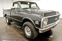 1971 Chevrolet  K10 SWB 4X4 truck.