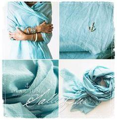 turquoise wrap