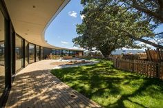 Chrysalis Childcare Centre Developed Around Mature Trees in Auckland, New Zealand (Part 1)