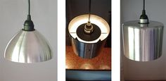 New Pendant Lamps from upcycled fire extinguishers