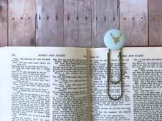 Bookmark,Book Mark,Book Clip,Paper Clip,Small Gift,Teacher Gift,Coworker Gift,House Warming,Brass Clip,Brass Bookmark,Large Clip Bookmark