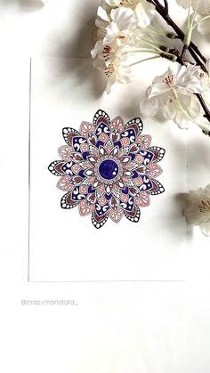 Mandala Book, Mandala Art Lesson, Mandala Artwork, Mandala Painting, Flower Mandala, Easy Mandala Drawing, Simple Mandala, Doodle Art Drawing, Carillons Diy