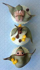 Gumnut babies cup cake decorating ideas
