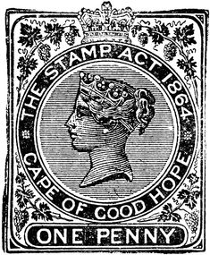 Cape of Good Hope One Penny Revenue Stamp, 1883 Vintage Stamps, Vintage Prints, Vintage Stuff, Decoupage, Litho Print, Postage Stamp Art, Pintura Country, Stamp Collecting, Illustrations
