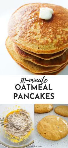Easy and healthy oatmeal pancakes – great way to start your mornings! This easy … Easy and healthy oatmeal pancakes – great way to start your mornings! This easy healthy breakfast recipe is simple and loved by toddlers and grown-ups… – Healthy Desayunos, Easy Healthy Breakfast, Breakfast For Kids, Healthy Chicken, Chicken Recipes, Healthy Eating, Healthy Egg Recipes, Breakfast Ideas For Kids, Easy Healthy Desserts
