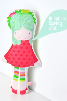 { NEW } #Spring #doll in my shop