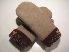 MMC0223 Highland Wool Mittens women med/lg by MichMittensbyLauri, $23.00